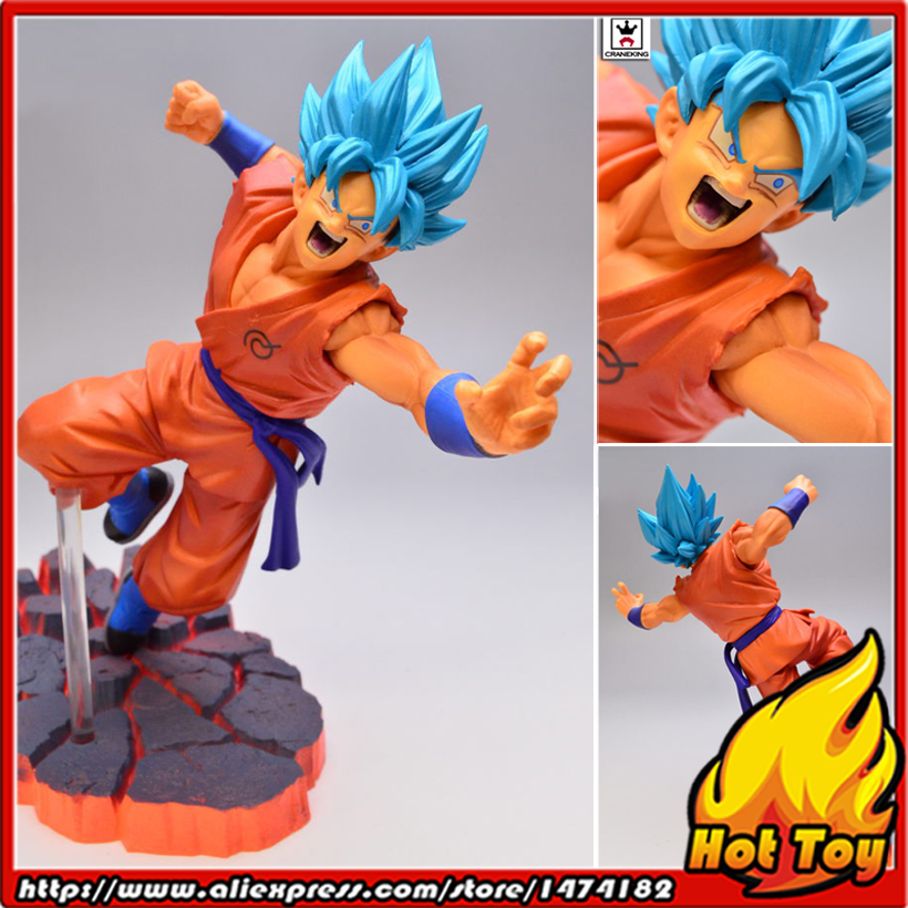 "Original Banpresto Scultures BIG Zoukei Tenkaichi Budoukai 5 Special Vol.1 Collection Figure - Son Gokou ""Dragon Ball SUPER"""