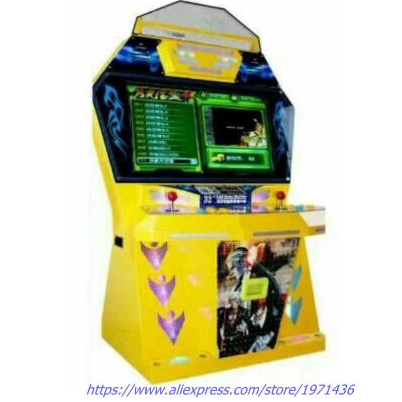Tekken Street Fighter Jetonlu Video Arcade Kabine Oyun Makinesi