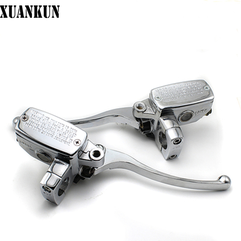 XUANKUN Motorcycle Rear Brake Pump Electric Motor Electric Vehicle Right Brake Pump before the Brake Pump Assembly Parts